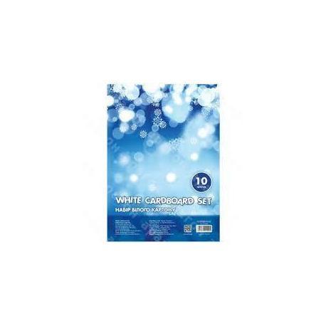 Картон білий А4 10арк. CFS21000