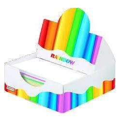 Бумага для записей Rainbow в бумажн.пенале  20908