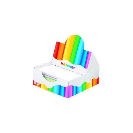 Папір для нотаток Rainbow в папер.пеналі  20908