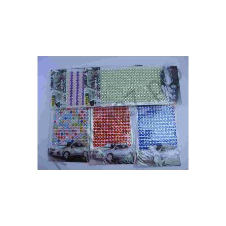 Декоративні стрази-наліпки 14BS 0420-3  (9*6,5см)