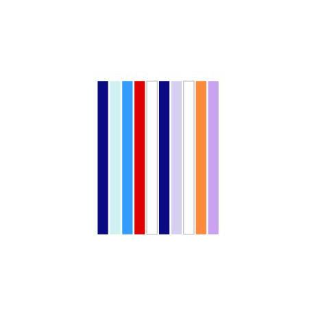 Набор полосок бумаги для квиллинга, 8 цветов, 1,5х295 мм, 80 г/м2, 200 шт. QP-80