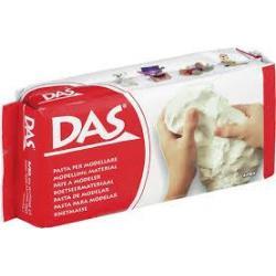 Глина для моделювання, DAS біла 500гр 387000