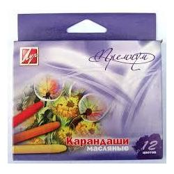 "Пастель масляна Луч ""Преміум"" 12кол. 12с873-08"