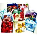 Пакет паперовий новорічний 16*16*5 Пт 057.5