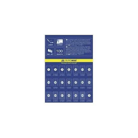 Етикетки самокл. ВМ.2867 ( 68шт/лист) 48*16,6