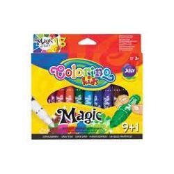 Фломастери магічні 10 кольорів COLORINO 34630PTR