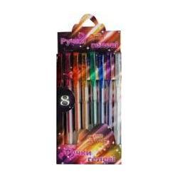 Набір ручок гелевих перламутр Little Artist 8шт. 023175