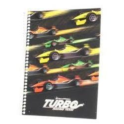 "Блокнот А5, 48 лис., ""Turbo"", боковая спираль кл. TU06270"