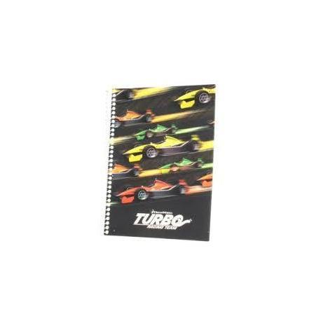 """Блокнот А5, 48 арк., """"Turbo"""", бічна спіраль кл. TU06270"""