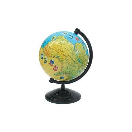 Глобус України (220 мм)