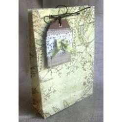 Пакет паперовий подарунковий 16*16*7,6 11-12
