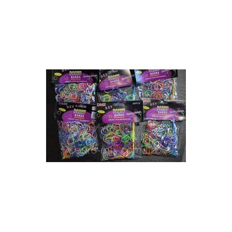 Набір для плетіння браслетів LOOM BANDS 300дет.  000300
