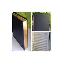 Ежедневник В6 недатированный Библьос  B252/1 золотые страницы