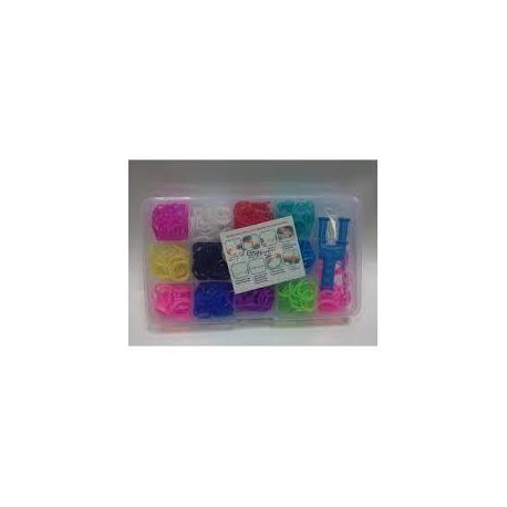 Набір для плетіння браслетів LOOM BANDS в коробці  003100