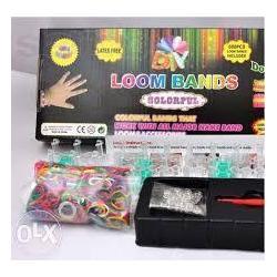 Набор для плетения браслетов LOOM BANDS в коробке 600дет.