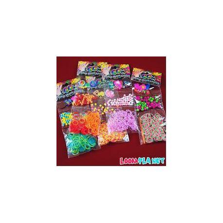 Набір для плетіння браслетів LOOM BANDS з намистом 110680
