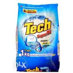 Пральний порошок Super Tech  для білого 1кг