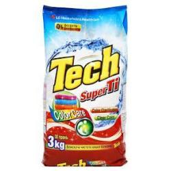 Пральний порошок Super Tech  для білого 3кг