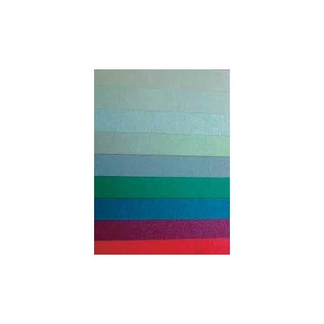 Папір кольоровий перламутр А4 10арк.двосторон. папка 53551