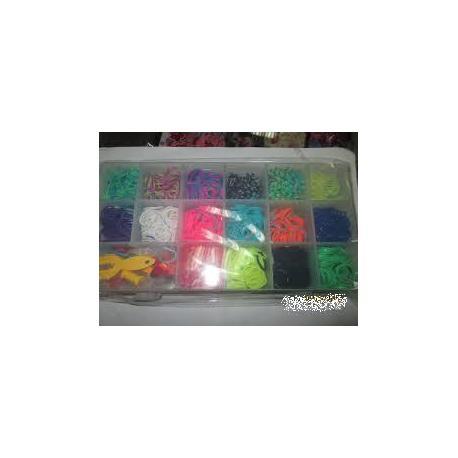 Набір для плетіння браслетів LOOM BANDS 1300дет.  88161