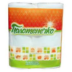 Рушник паперовий Полотенечко 2шт/уп