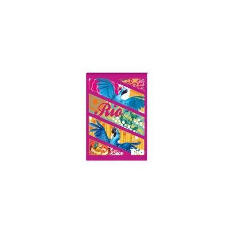 """Блокнот А6, 48 арк., термобиндер  """"Rio"""", обкладинка - картон + лак RI00273-12"""