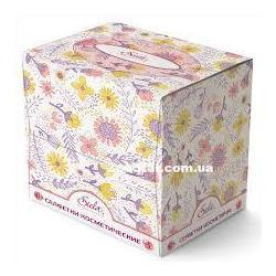 Салфетки бумажные Siela в коробке куб 80шт/уп