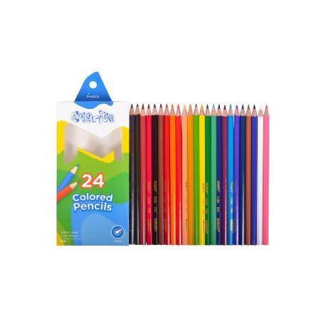 """Кольрові олівці 1100-24СВ 24кол.""""Colorite"""""""