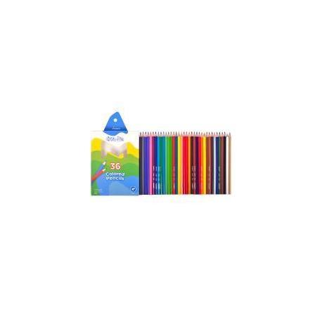 """Кольрові олівці 1100-36СВ 36кол.""""Colorite"""""""
