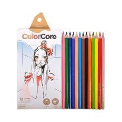 """Кольрові олівці 3130-12 12кол. """"ColorCore"""""""