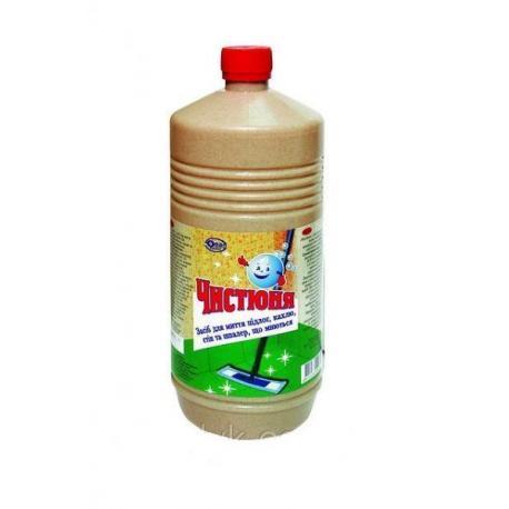 Засіб для миття підлоги, кахлю, шпалер Чистюня ЕКОНОМ 1л