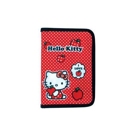 Пенал 1 від.,1 відв.,без напов. 621 Hello Kitty-3 HK14-621-3K