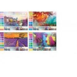 Альбом для малювання 48 арк. пруж. ПОДІЛЛЯ 13448, 13447