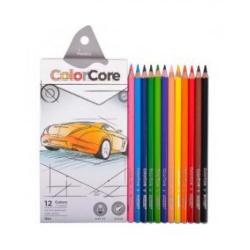"""Кольрові олівці 3100-12 12кол. """"ColorCore"""""""
