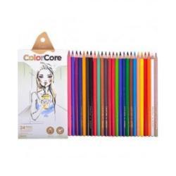 "Цветные карандаши 3130-24 24цв. ""ColorCore"""