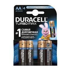 Елемент живлення Duracell  АА LR6 Turbo Max (8шт/бл)