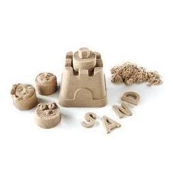 Пісок кінетичний WB 8169 400г+6 форм+стеки