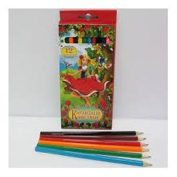 Кольорові олівці 12кол. JО 7303-12