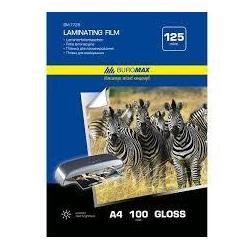 Плівка для ламінування А4 125мкм 216*303мм 100арк/уп ВМ.7725